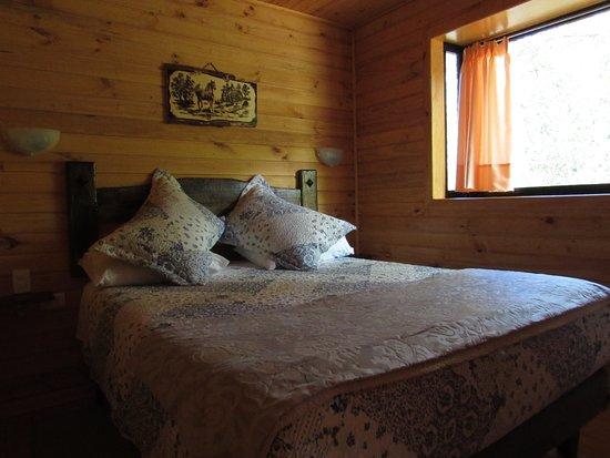 cabanas roble quemado dormitorio matrimonial