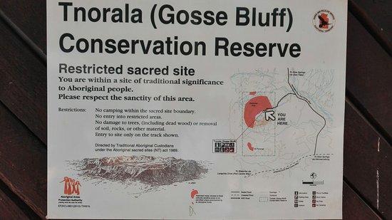 Tnorala (Gosse Bluff) Conservation Reserve : IMG_20160728_111045_large.jpg