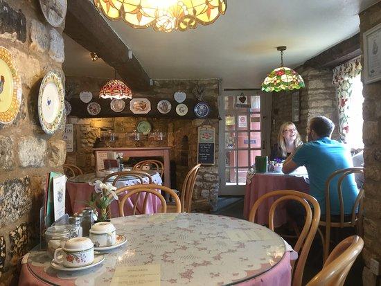 Small Talk Tearooms: about half of the tea room