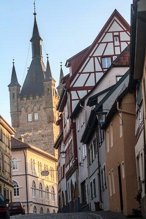 Bad Wimpfen, Germany: вид на Blauer Turm в Бад-Вимпфене