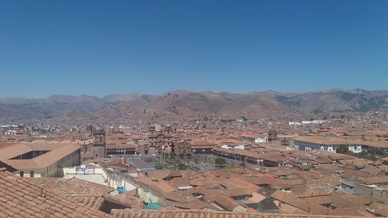 Hostal Casa del Inka: A vista do hostal