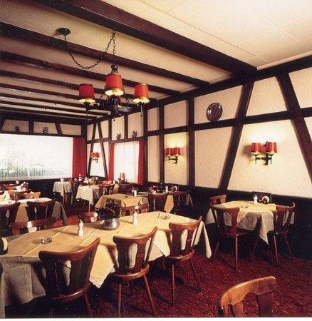 Zweisimmen, Schweiz: Restaurant