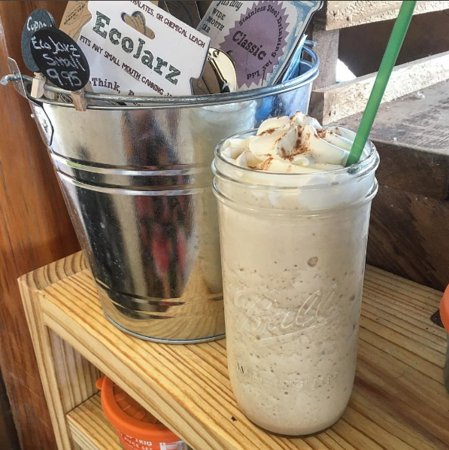 Wimberley, Τέξας: hot, iced, and frozen drinks