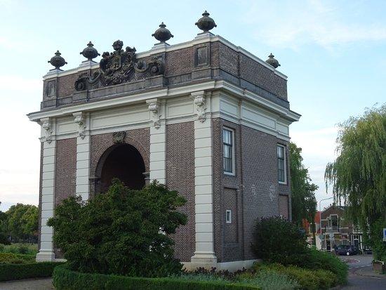 Rijksmonument de Koepoort van Middelburg uit 1735