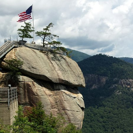 Awesome hike to Chimney Rock!