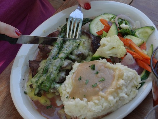 Brighton, UT: flat iron steak