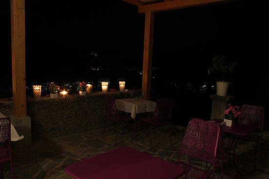 Molina di Faggeto Lario, Italia: terrazza