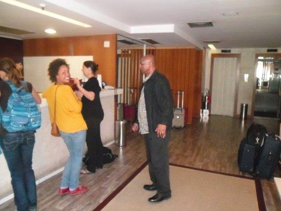 Mar Ipanema Hotel: Checking in