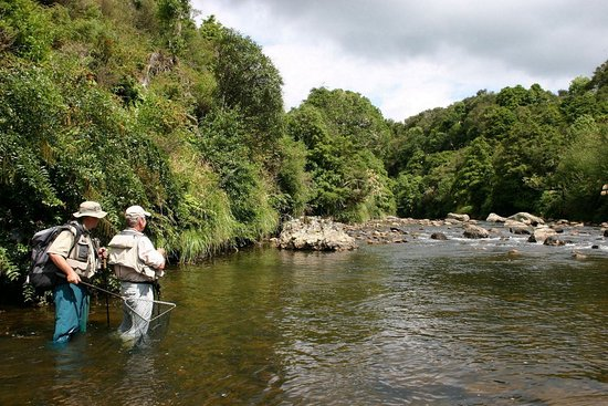 Turangi, Selandia Baru: Flyfishing