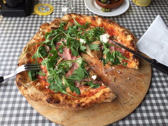 Lund, Suecia: Italian style pizza