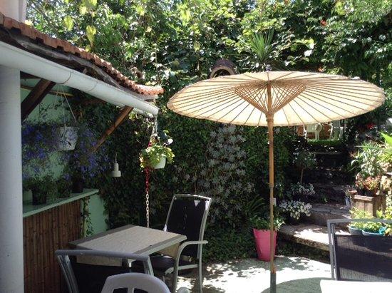 Mirande, Frankreich: Terrasse du bas