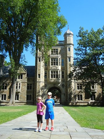 Ann Harbor, MI: The adults really enjoyed the architecture and the kids enjoyed being able to run around!