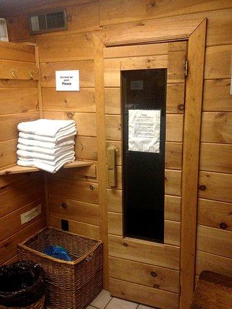 Willkommen Hof Bed and Breakfast: Sauna and towels
