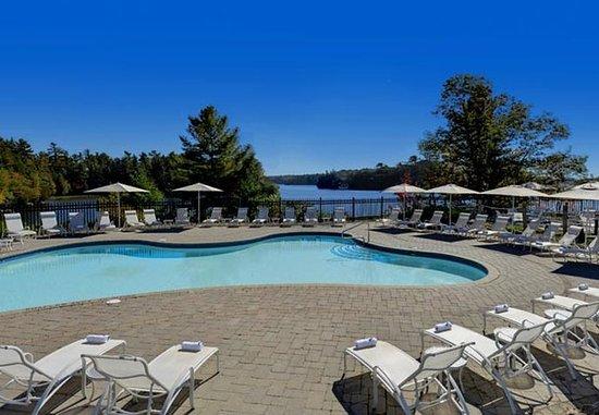 Minett, แคนาดา: Paignton House Outdoor Pool