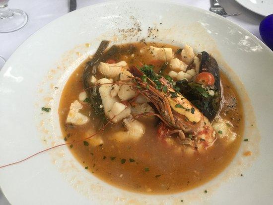 Modigliani: Fish Soup (half eaten)
