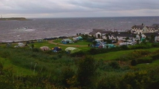 Kildonan, UK: View of the campsite.