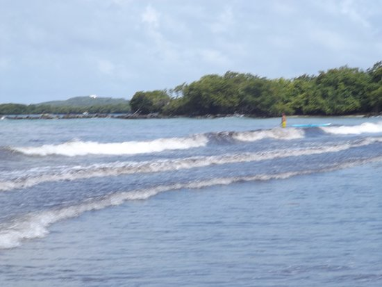 Ceiba, Puerto Rico: The hidden bay is over beyond this point