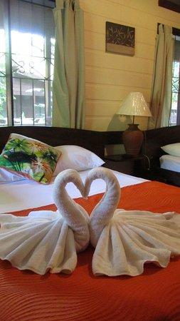 Pachira Lodge: Nuestra habitación