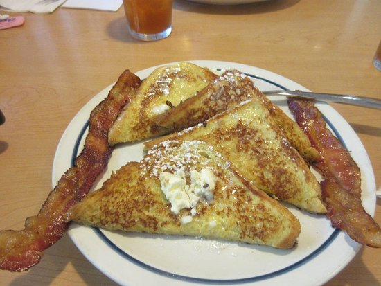 French Toast with Bacon, iHop, Milpitas, CA