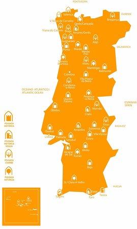 Ourem, โปรตุเกส: Map