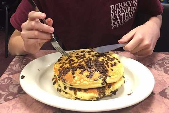 Poultney, VT: Best Chocolate Chip Pancakes