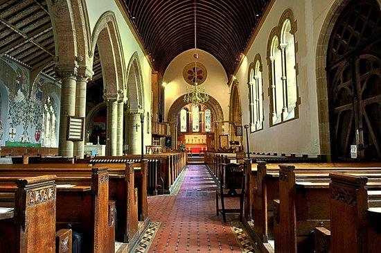Helmsley, UK: Interior of helmsly Church