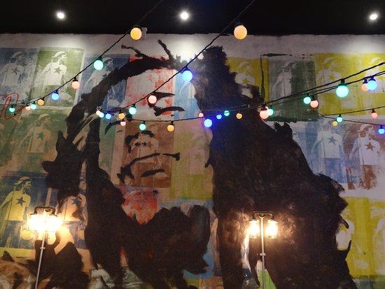 Bob Marley Deco at Sugar Dumpling, Camberley