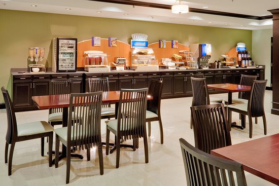 Holiday Inn Express & Suites Warminster - Horsham: Breakfast Bar
