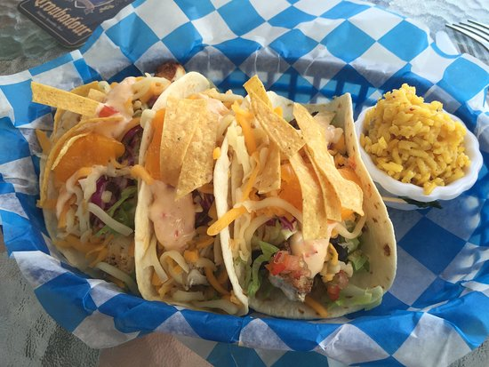 Beach Side Cafe: Fish Tacos