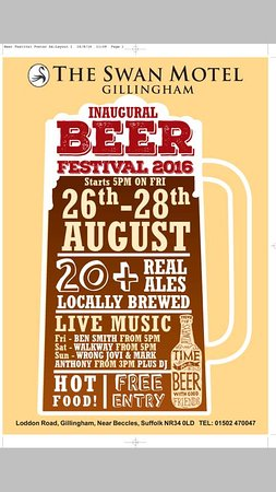 The Swan Motel: Bank Holiday Beer Festival