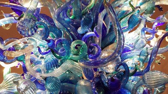 Morean Art Center: Chihuly exhibit - December 2015