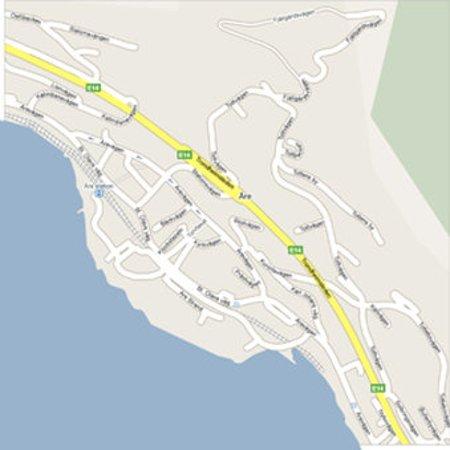 Are, السويد: Map