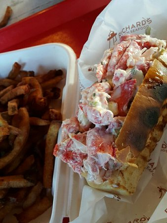 Stanhope, Canada: Richard's Fresh Seafood