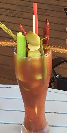Mauston, WI: Bloody Mary at Shipwreck Bay