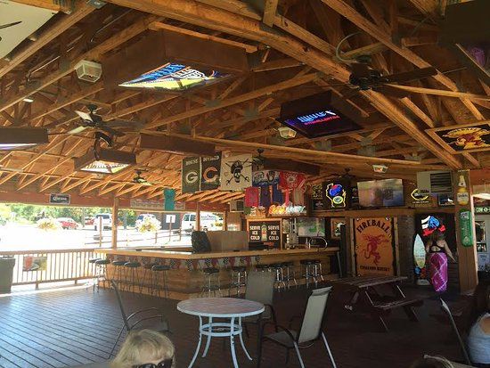 Mauston, WI: Outdoor Bar Area - Shipwreck Bay