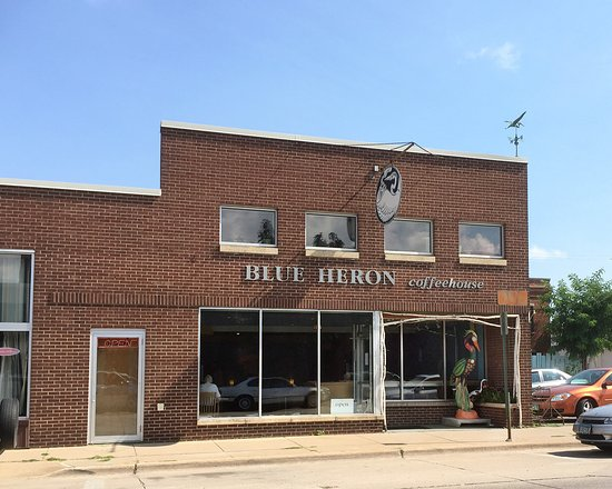 Blue Heron Coffee House: Blue Heron Coffeehouse - Winona, Minnesota
