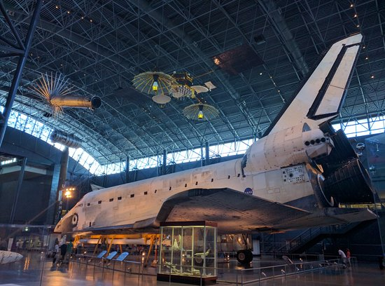 Chantilly, VA: Space Shuttle Discovery after her final mission
