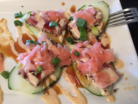 Seekonk, MA: Tuna appetizer