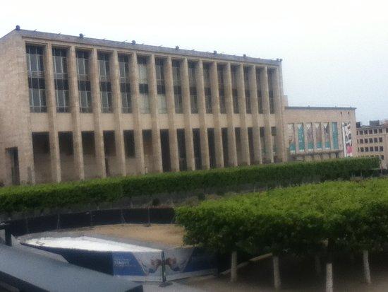 Albert I Royal Library: 建物外観