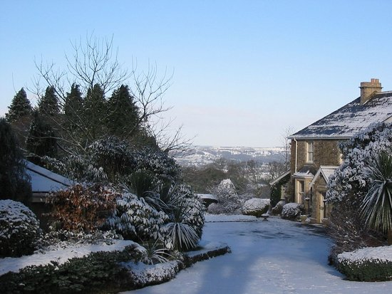 Hawkchurch, UK: A Crisp Winter's Day