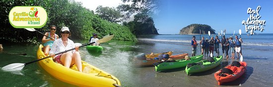 Carrillo Adventures & Travel : Ocean Kayaking Tour Carrillo Adventures