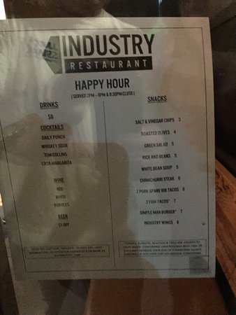 Tualatin, Oregón: Happy hour