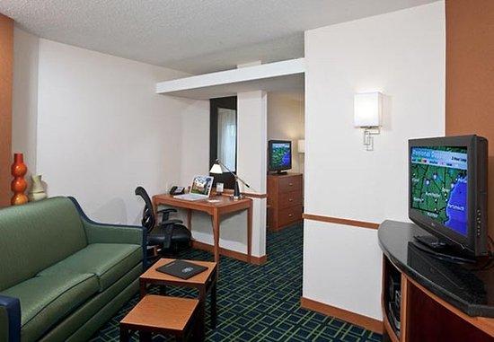 Exeter, Nueva Hampshire: Suite Sitting Area