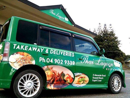 Paraparaumu, Selandia Baru: Delivery