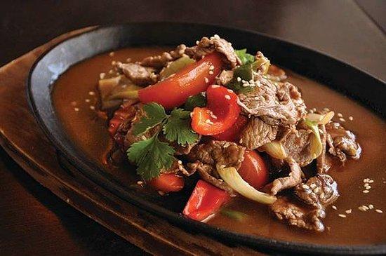 Paraparaumu, Selandia Baru: Beef sizzling