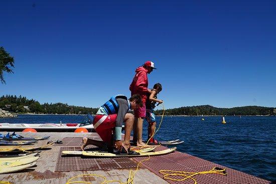 Lake Arrowhead, كاليفورنيا: Ready to get wet