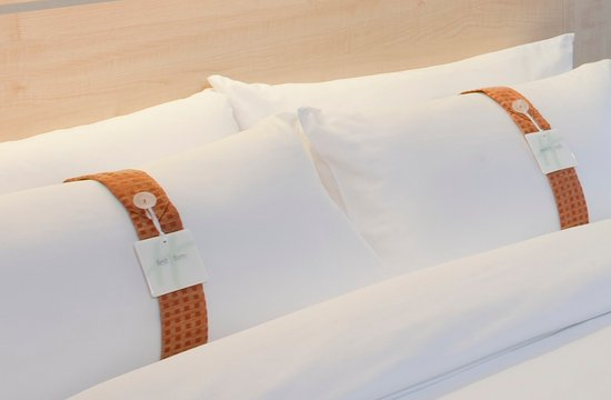 Gutersloh, เยอรมนี: Our cozy pillow menue is waiting for you.