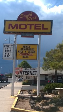 Grants, نيو مكسيكو: Great signage