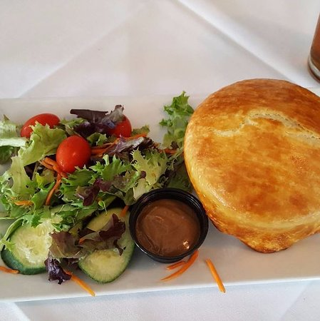 Lititz, PA: Chicken and leek pie.