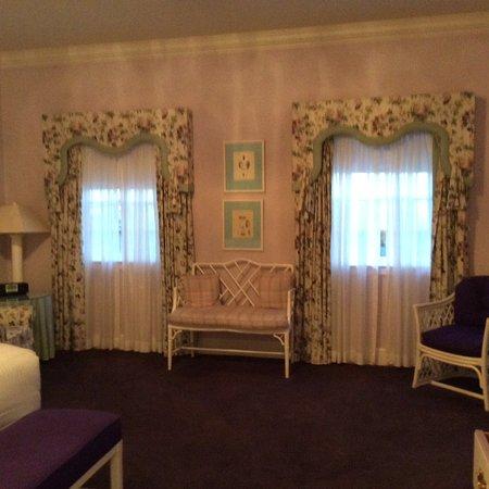 the greenbrier interieur florida guest house